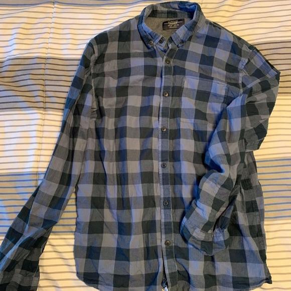 Pull&Bear Other - Pull & Bear Plaid Button Down Shirt.